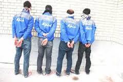 دستگیری اعضای باند 4 نفره ی سارقان منزل در رفسنجان