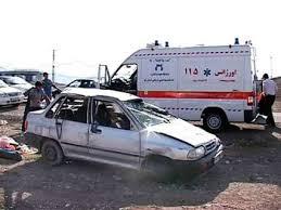 مرگ 3 نفر در حوادث ترافیکی رفسنجان در کمتر از 8 ساعت