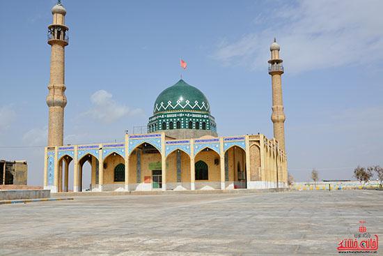 امامزاده سید ابراهیم(ع) بهرمان رفسنجان در قاب تصویر