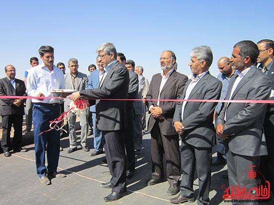 بازدید معاون وزیر راه و شهرسازی از راههای روستایی رفسنجان