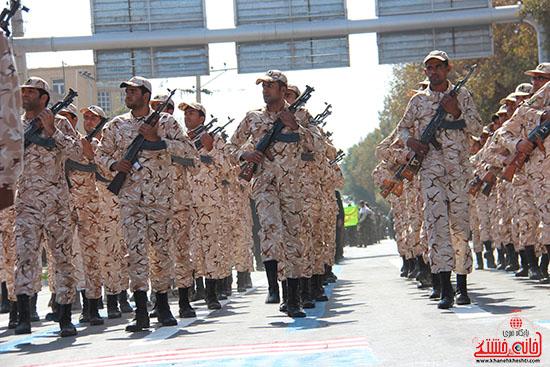 رژه نیروهای مسلح رفسنجان-خانه خشتی (2)