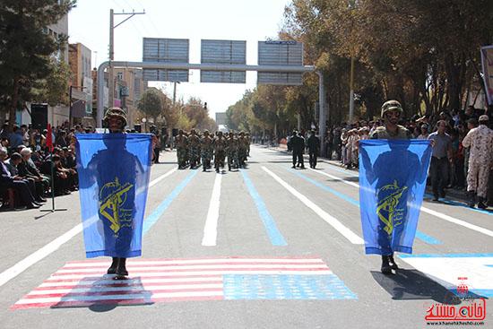 رژه نیروهای مسلح رفسنجان-خانه خشتی (3)