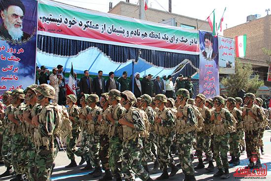 رژه نیروهای مسلح رفسنجان-خانه خشتی (5)