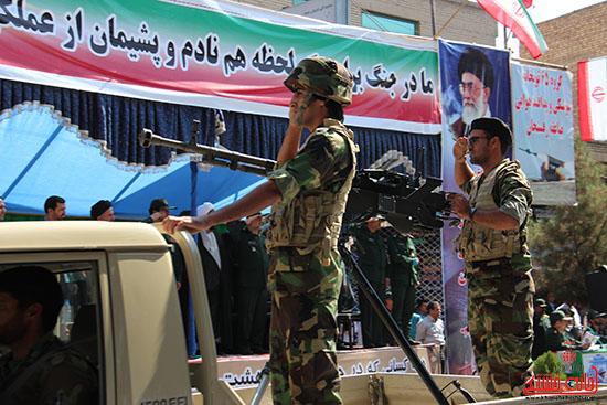 رژه نیروهای مسلح رفسنجان-خانه خشتی (9)