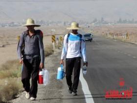 زائرین پیاده امام رضا (ع)-رفسنجان-مشهد مقدس- (2)