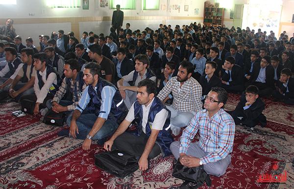 زنگ سرشماری عمومی کشاورزی در مدرسه شاهد رفسنجان1