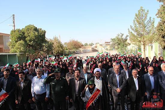 زنگ مهر در مدارس رفسنجان-خانه خشتی (2)