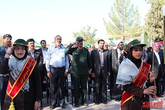 زنگ مهر در مدارس رفسنجان-خانه خشتی