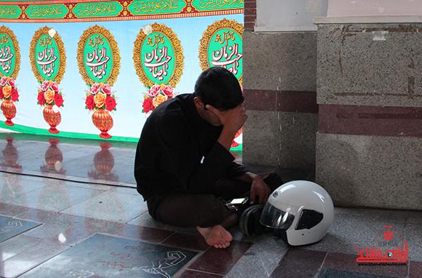 غبارروبی گلزار شهدای رفسنجان24