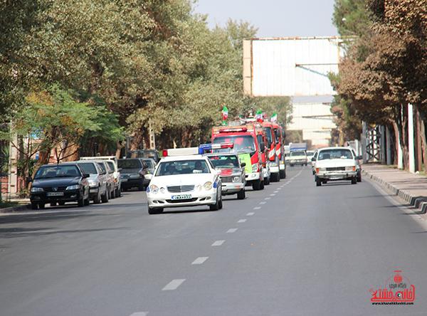 مانور آتش نشانی در رفسنجان11