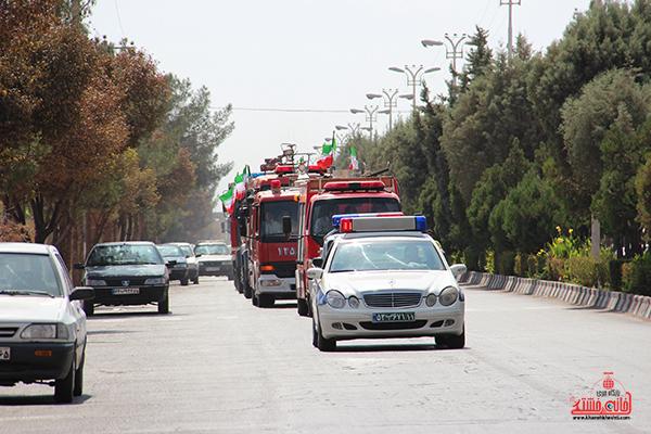 مانور آتش نشانی در رفسنجان6