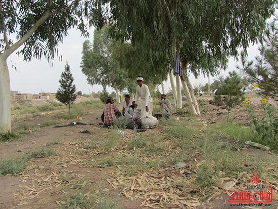 مصوبات ستاد ساماندهی کارگران رفسنجان از حرف تا عمل-خانه خشتی (7)