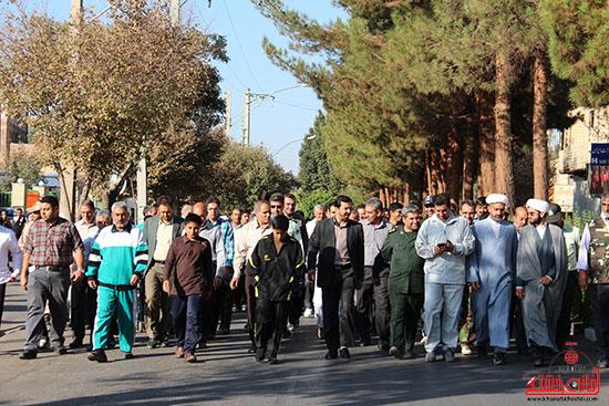 همایش پیاده روی رفسنجان-دفاع مقدس-خانه خشتی (2)