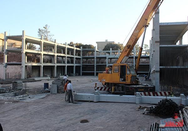 اولین پارکینگ طبقاتی پیش ساخته استان کرمان در رفسنجان به بهره برداری می رسد