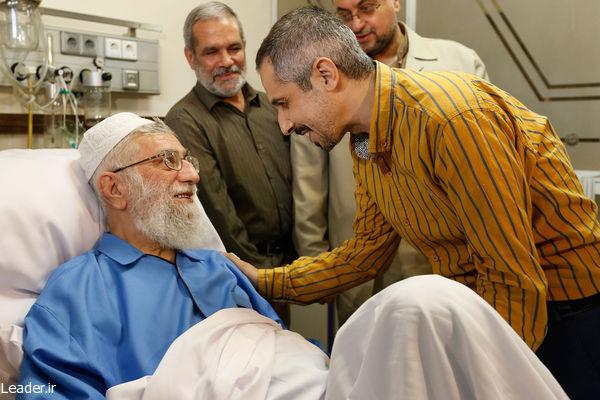 عکس/جواد عزتی و جواد رضویان در دیدار با رهبری
