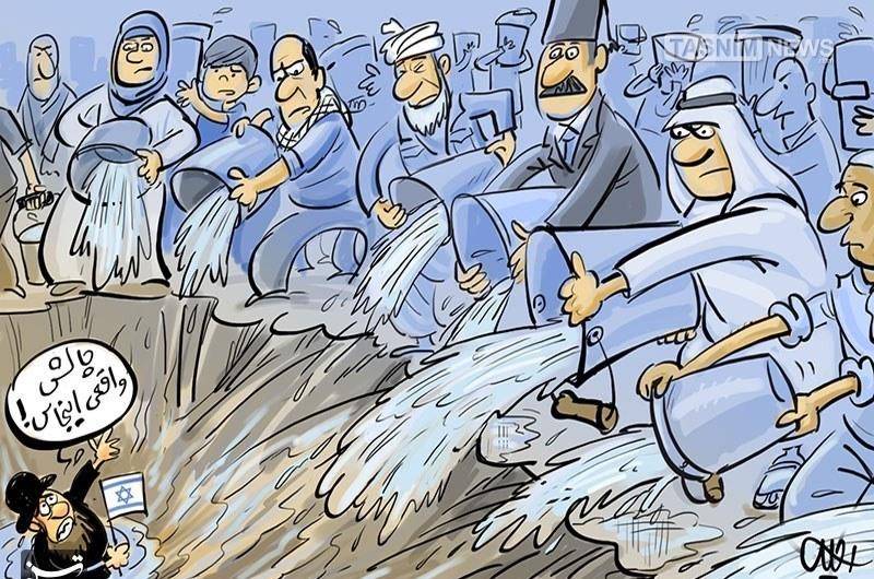 کاریکاتور/ چالش ضروری سطل آب