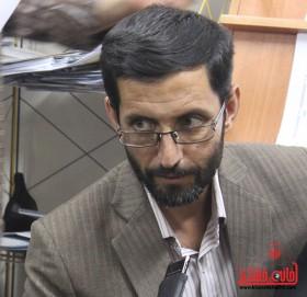احمد مرادی مسئول فرهنگی سپاه رفسنجان
