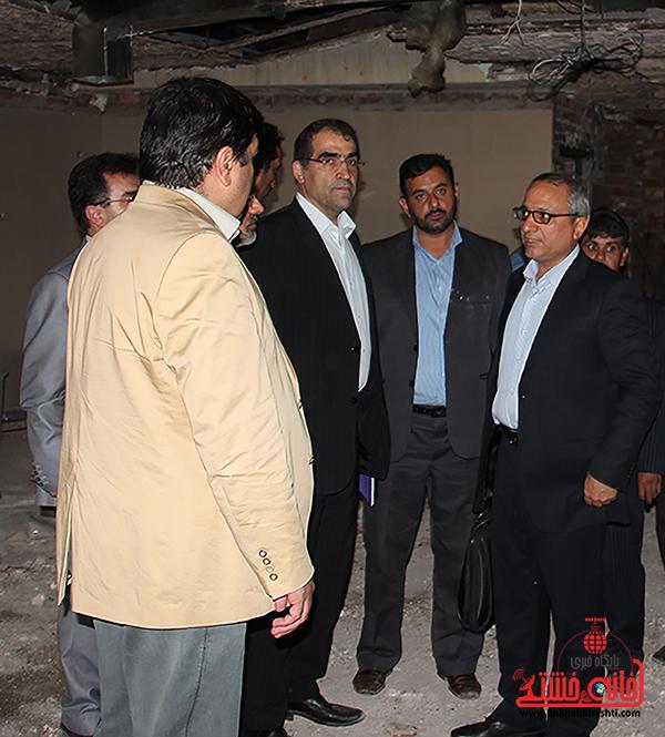 بازدید وزیر بهداشت از بیمارستان رفسنجان1