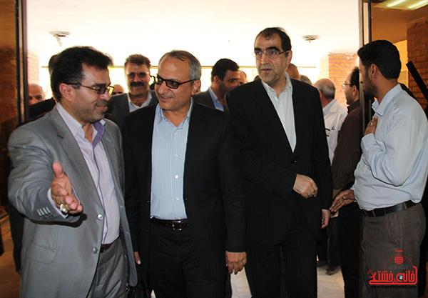 بازدید وزیر بهداشت از بیمارستان رفسنجان13