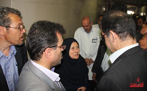 بازدید وزیر بهداشت از بیمارستان رفسنجان3