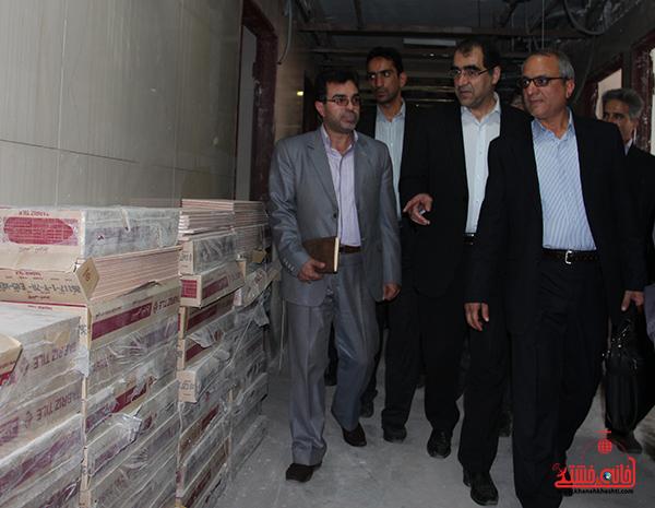 بازدید وزیر بهداشت از بیمارستان رفسنجان4