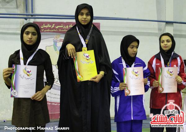 پایان رقابت های جودو دختران در المپیاد ورزشی کرمانیان