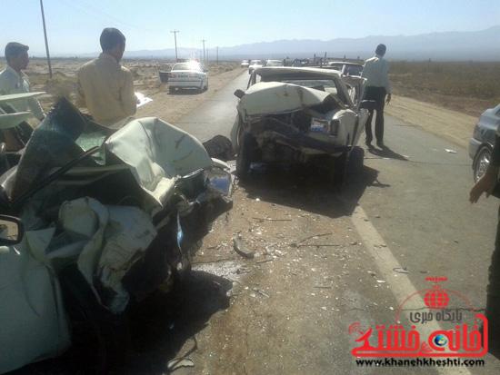 محور کشکوئیه –شریف آباد سه کشته بر جای گذاشت + عکس