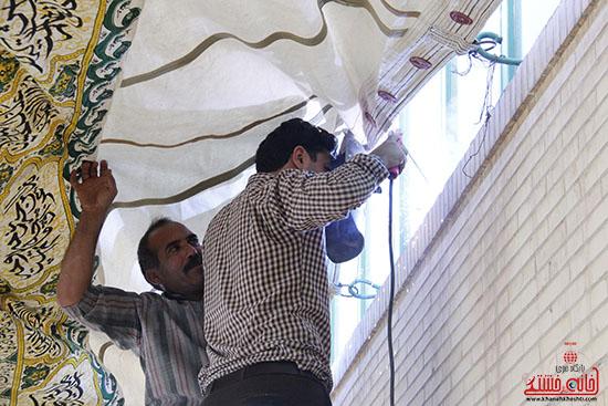 برپایی خیمه ی اباعبدالله الحسین(ع) در بیت العباس رفسنجان (24)
