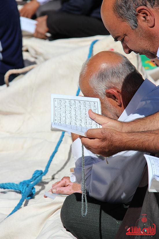 برپایی خیمه ی اباعبدالله الحسین(ع) در بیت العباس رفسنجان (8)