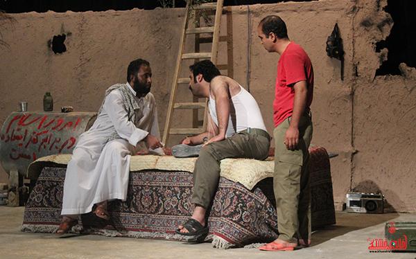 تئاتر گاومیش در رفسنجان1