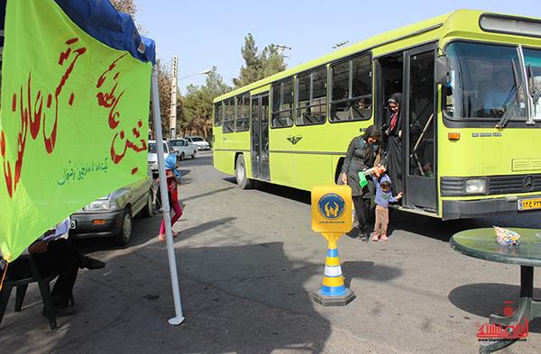 جشن عاطفه ها در پایگاه های سطح شهر رفسنجان