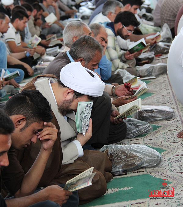 دعای روز عرفه در مصلای امام خامنه ای رفسنجان16