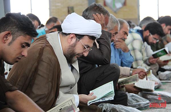 دعای روز عرفه در مصلای امام خامنه ای رفسنجان17