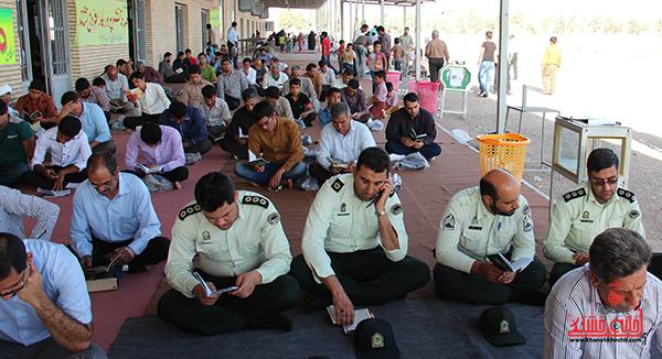 دعای روز عرفه در مصلای امام خامنه ای رفسنجان18