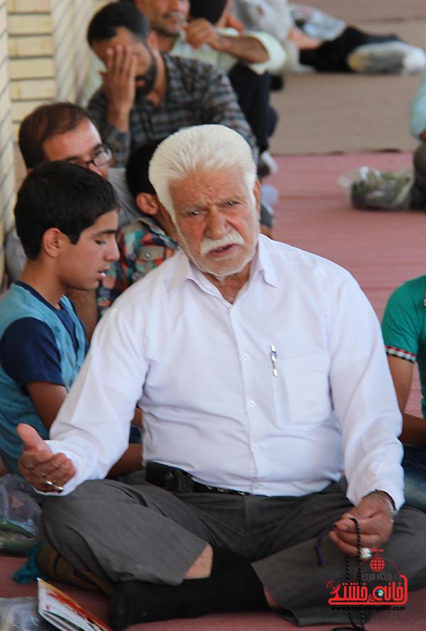 دعای روز عرفه در مصلای امام خامنه ای رفسنجان5