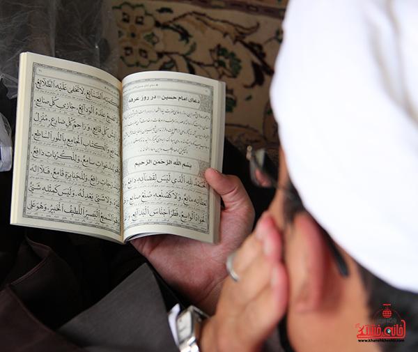 دعای روز عرفه در مصلای امام خامنه ای رفسنجان6