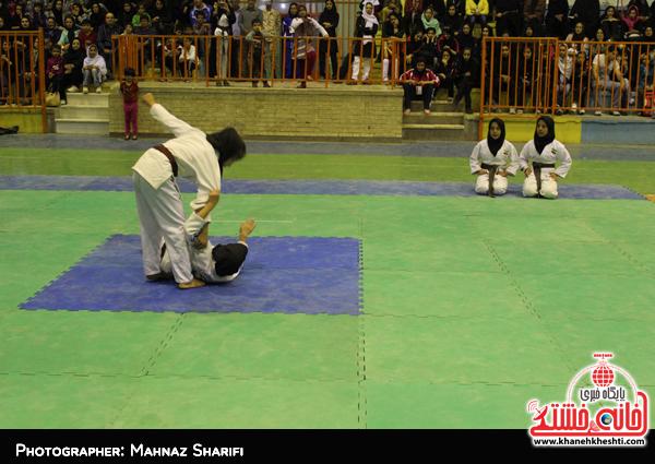 رقابت بیش از ۷۰ جودوکار دختر در رفسنجان