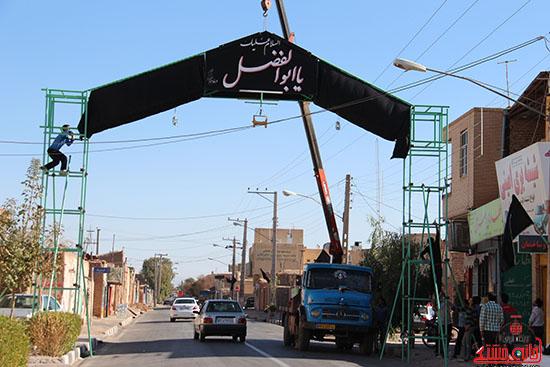 شور جوانان رفسنجانی در عزای حسینی-خانه خشتی (11)