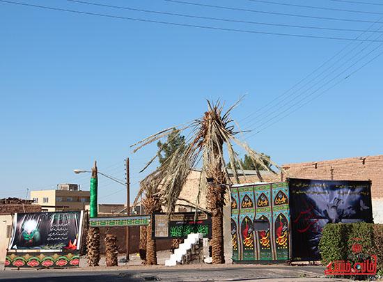 شور جوانان رفسنجانی در عزای حسینی-خانه خشتی (12)