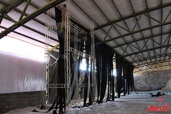 شور جوانان رفسنجانی در عزای حسینی-خانه خشتی (3)