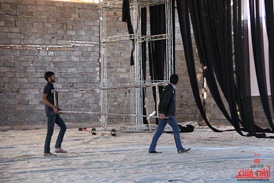 شور جوانان رفسنجانی در عزای حسینی-خانه خشتی (4)