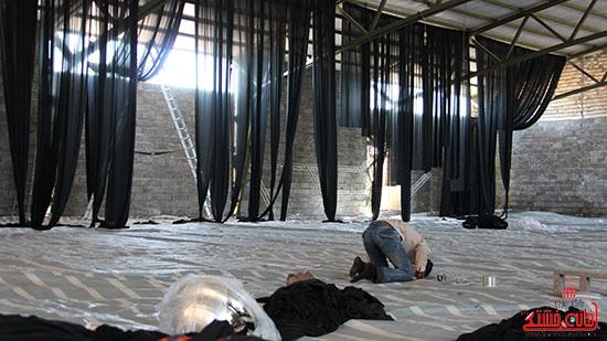 شور جوانان رفسنجانی در عزای حسینی-خانه خشتی (5)