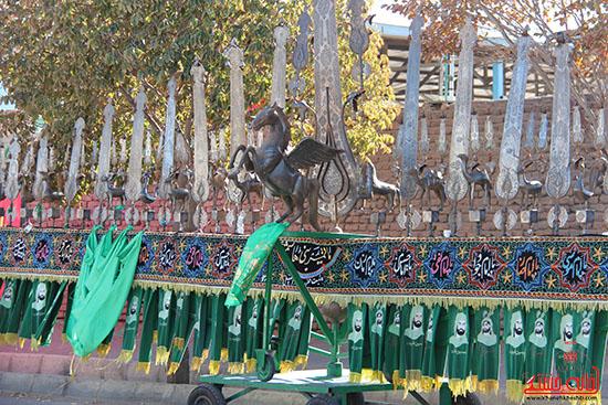 شور جوانان رفسنجانی در عزای حسینی-خانه خشتی (9)