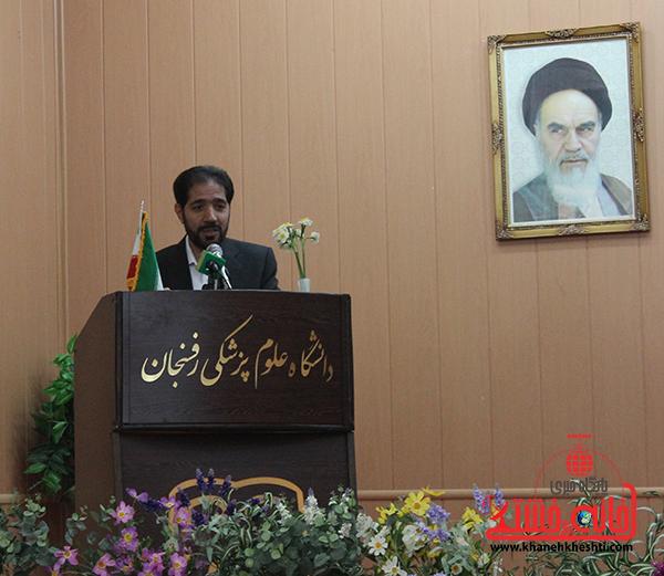 عباس رشیدی مدیر کل سازمان بازنشستگی رفسنجان