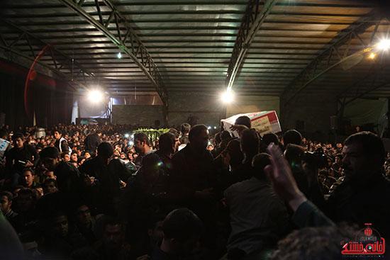 مراسم استقبال و وداع با شهید گمنام در رفسنجان (10)