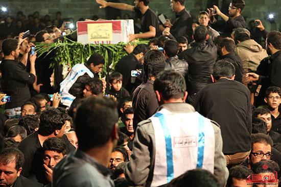 مراسم استقبال و وداع با شهید گمنام در رفسنجان (11)