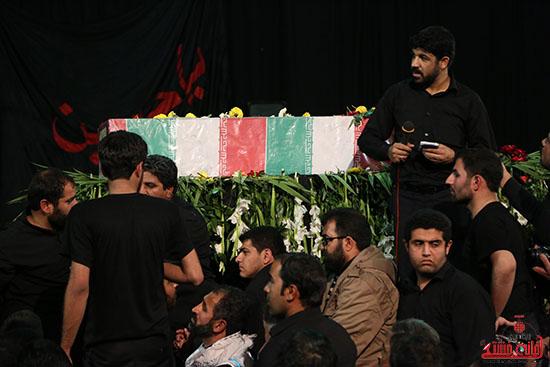 استقبال از شهید غواص و ۱۰ شهید گمنام در رفسنجان
