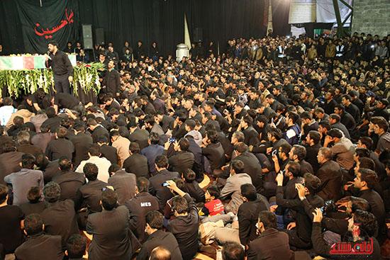 مراسم استقبال و وداع با شهید گمنام در رفسنجان (14)
