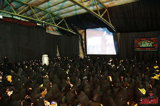 مراسم استقبال و وداع با شهید گمنام در رفسنجان (16)