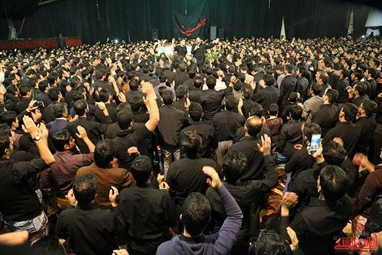 مراسم استقبال و وداع با شهید گمنام در رفسنجان (17)